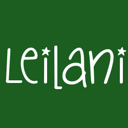Significado leilani Leila